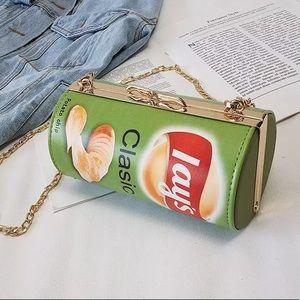 Handbags - 𝕙𝕡! Green Potato Chip Purse
